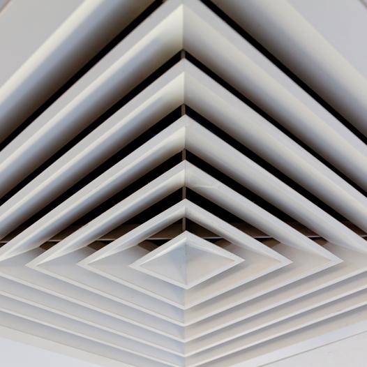 klimaanlage ventilationsöffnung